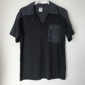 Patagonia Polo Grey & Black Shirt